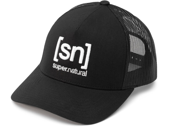 super.natural I.D. Trucker Cap, jet black